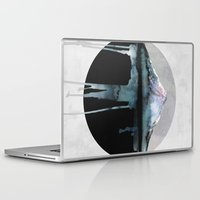 mountains Laptop & iPad Skins featuring The Island | by Dylan Silva & Georgiana Paraschiv by Georgiana Paraschiv