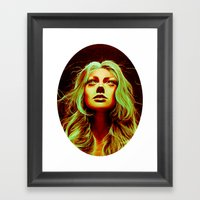 Abducted Framed Art Print