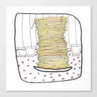 Pancakes Canvas Print