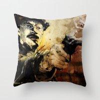 Halk Mask Throw Pillow