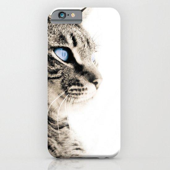 Blue eyes iPhone & iPod Case