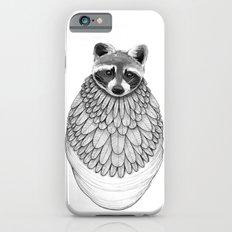 Raccoon- Feathered iPhone 6 Slim Case