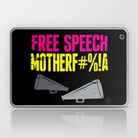 Free Speech Motherf#%!a Laptop & iPad Skin