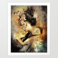 The Last Geisha Art Print