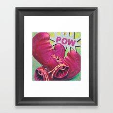 POW Framed Art Print