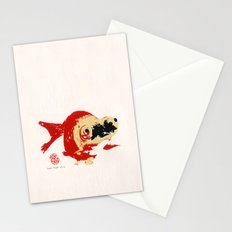 Gold Fish 2 Stationery Cards