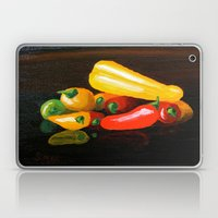 Peppers From a Friend, the painting Laptop & iPad Skin