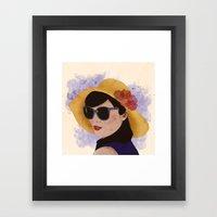 Verão Framed Art Print