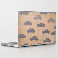 car Laptop & iPad Skins featuring Car by sinonelineman