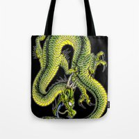 japanese dragon 9 Tote Bag