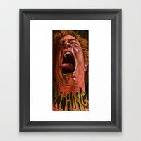 The Thing Framed Art Print