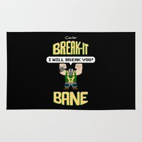 Break-It Bane Rug