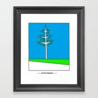 Tree Growth Framed Art Print