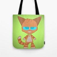 Dave Cat Tote Bag
