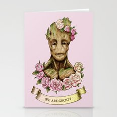 We Are Groot Stationery Cards