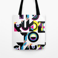 It's Rude To Stare Tote Bag