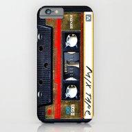 Retro Cassette Mix Tape iPhone 6 Slim Case