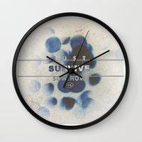 JUST SURVIVE SOMEHOW (JSS) Wall Clock