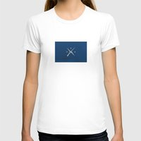 The Minute Men Womens Fitted Tee White SMALL