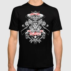 Stop Your Lion Mens Fitted Tee Black SMALL