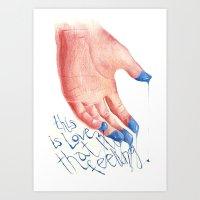 This Is LOVE Art Print