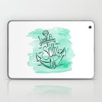 Live A Salty Life Laptop & iPad Skin