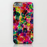 iPhone Cases featuring Floral Explosion by Amy Sia