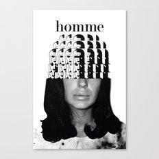Mujer Canvas Print
