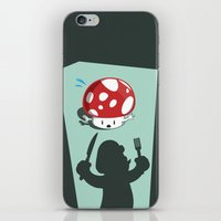 Oh no! It's Mario! iPhone & iPod Skin