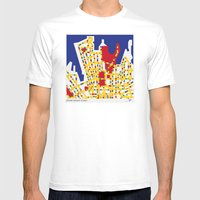BOOGIE WOOGIE SYDNEY Mens Fitted Tee White SMALL