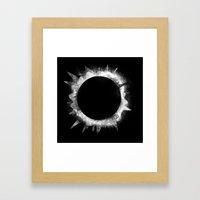 Eclipse 1 Framed Art Print