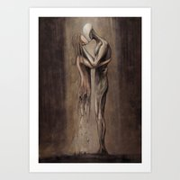 Entropy Of Love Art Print