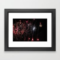 ~ Let the Sparks Fly~ Framed Art Print
