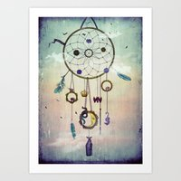 The Dream Catcher Art Print