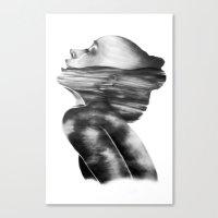 Dissolve // Illustration Canvas Print