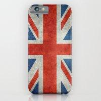 UK British Union Jack flag retro style iPhone 6 Slim Case