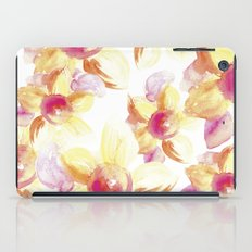 Sunflowers Watercolor iPad Case
