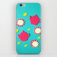 Turquois Tea iPhone & iPod Skin