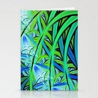 Jungle Waterfall Stationery Cards