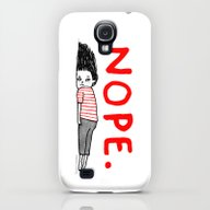 Nope Galaxy S4 Slim Case