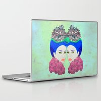 japan Laptop & iPad Skins featuring Japan by Luna Portnoi