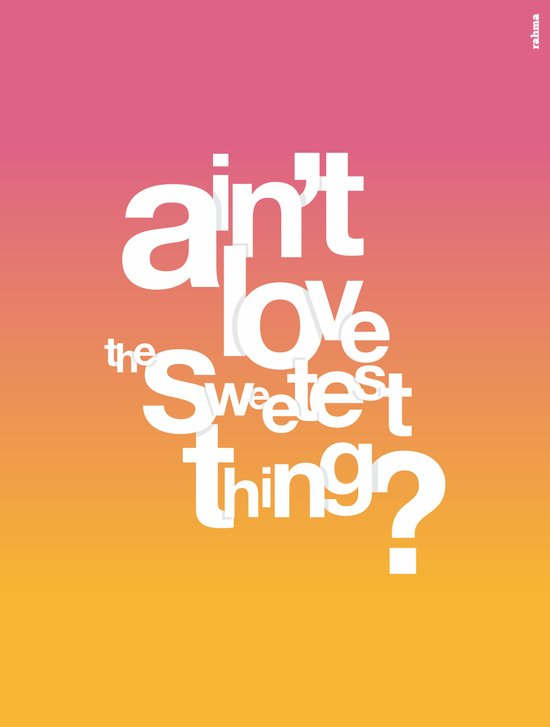 Sweetest Thing Art Print