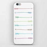 Colour Arrows iPhone & iPod Skin