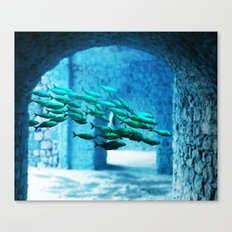 Our Underwater Kingdom #society6 #art #prints Canvas Print