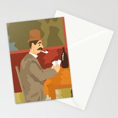 Card players by Cezanne Stationery Cards