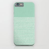 iPhone Cases featuring Riverside - Hemlock by Jacqueline Maldonado