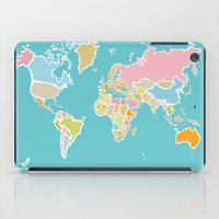 Map Print iPad Case