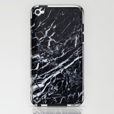 Real Marble Black iPhone & iPod Skin