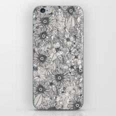pencil flowers iPhone & iPod Skin
