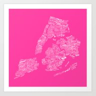 NYC Every-Neighborhood M… Art Print